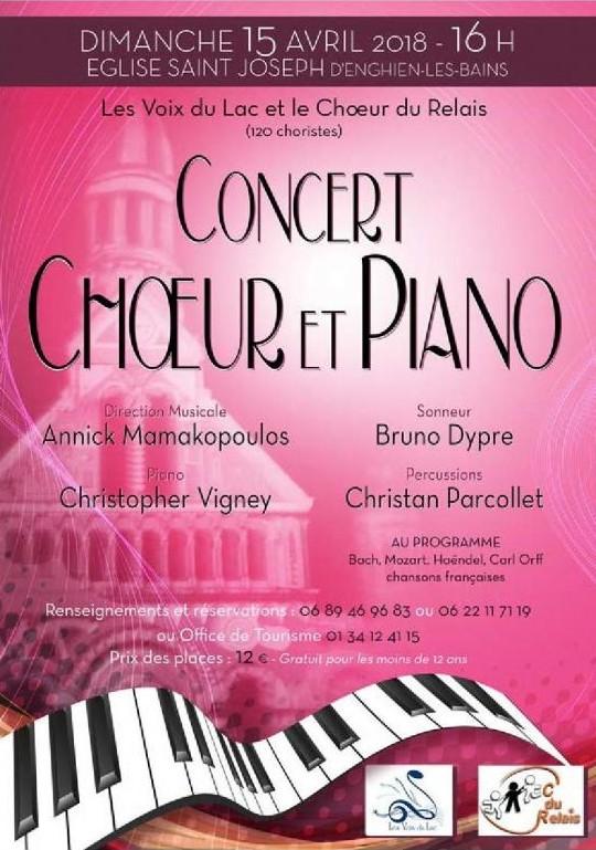 2018 choeur et piano